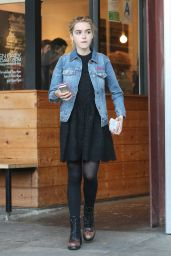 Kiernan Shipka - Out in Los Angeles, November 2015