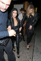 Kourtney Kardashian - Kendall Jenner`s Birthday Party at Nice Guy Nightclub in Los Angeles