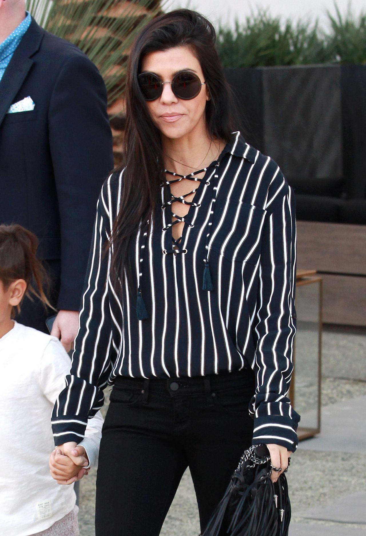 Kourtney Kardashian - Out in Beverly Hills, November 2015