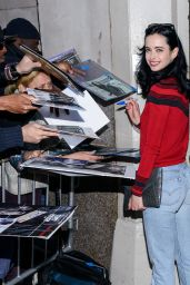Krysten Ritter Booty in Jeans - Outside the AOL Studios in NYC, November 2015