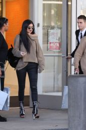 Kylie Jenner Casual Style - Shopping Spree and New Rolls Royce, November 2015