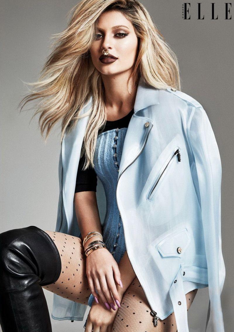Kylie Jenner – ELLE Magazine Canada December 2015