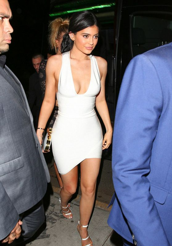Kylie Jenner - Justin Bieber's 2015 AMAs Afterparty