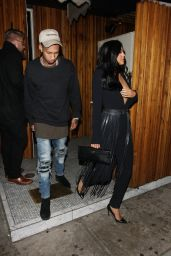 Kylie Jenner Night Out Style - Nice Guy Club in West Hollywood, November 2015