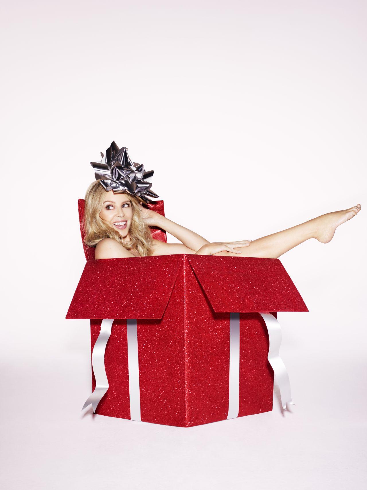 Minogue - A Kylie Christmas Shooting 2015