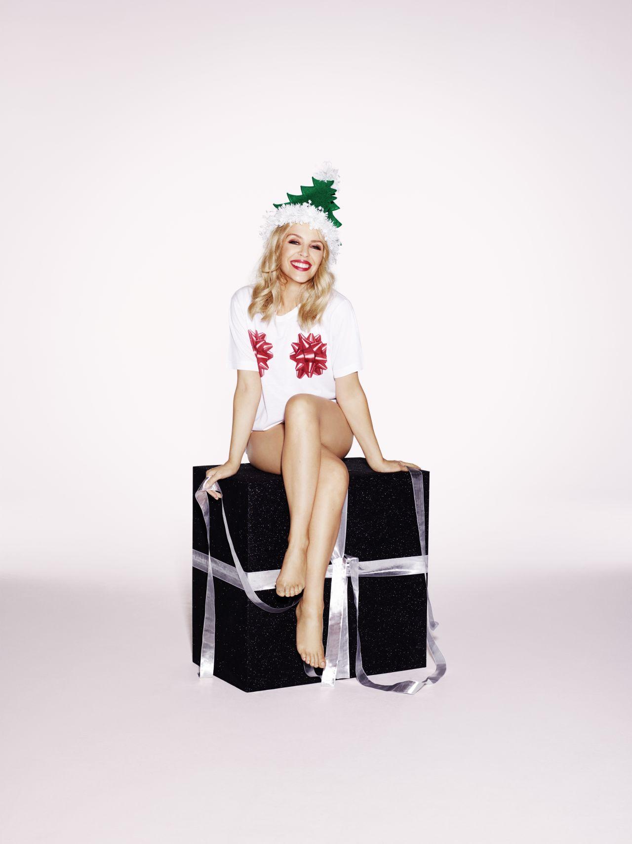 Kylie Minogue Christmas Shooting Demi Lovato Xmas