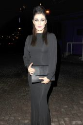 Kym Marsh – James Milner's Nightmare Before Christmas Charity Ball in Manchester