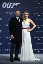 Léa Seydoux and Daniel Craig -