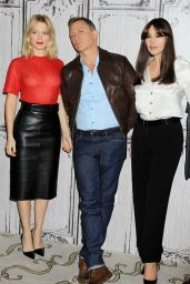Léa Seydoux, Daniel Craig and Monica Bellucci - AOL Studios in New York City, November 2015
