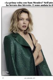 Léa Seydoux - GQ Magazine Italy November 2015 Issue and Photos