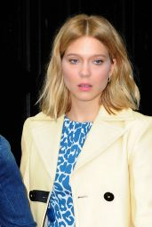Léa Seydoux - Leaving a Hotel in New York City, November 2015