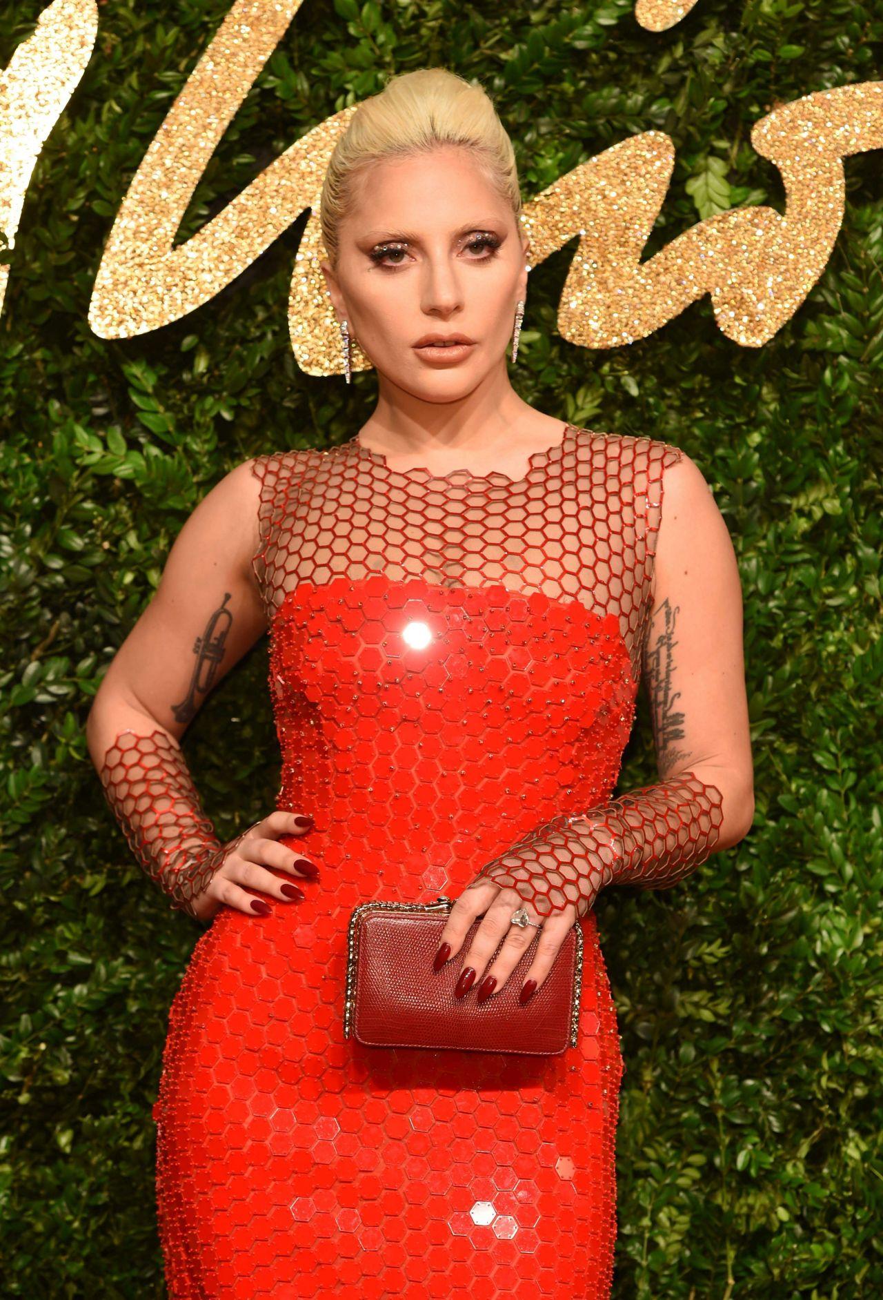 Lady Gaga London Fashion Awards