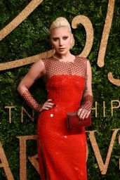 Lady Gaga – British Fashion Awards 2015 at London Coliseum