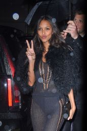 Lais Ribeiro – Arrives at Tao for Victoria's Secret Fashion Show After Party in NYC