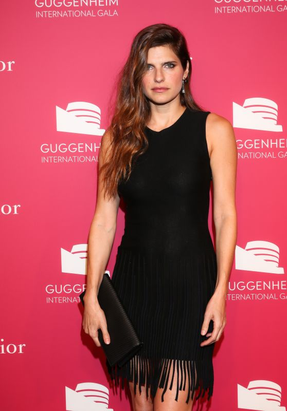 Lake Bell - 2015 Guggenheim International Gala Pre-Party in New York City