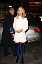 Lauren Pope – Leaving The London Palladium After Attending The ITV Gala, November 2015