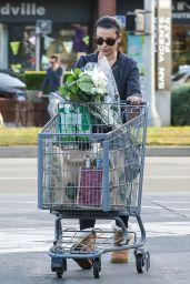 Lea Michele - Shopping in Brentwood, November 2015