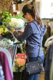 Lea Michele - Shopping in Brentwood, November 2015