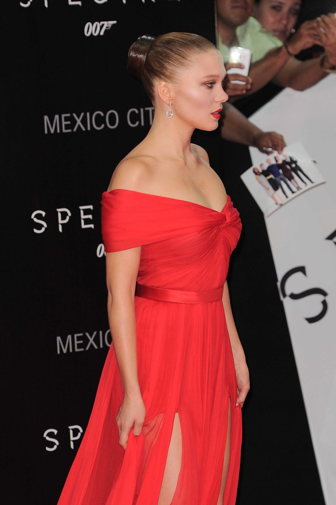 Lea Seydoux James Bond Spectre Latin America Film Premiere In Mexico City