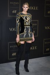 Lena Gercke - BALMAIN-H&M Launch Party in Berlin, November 2015
