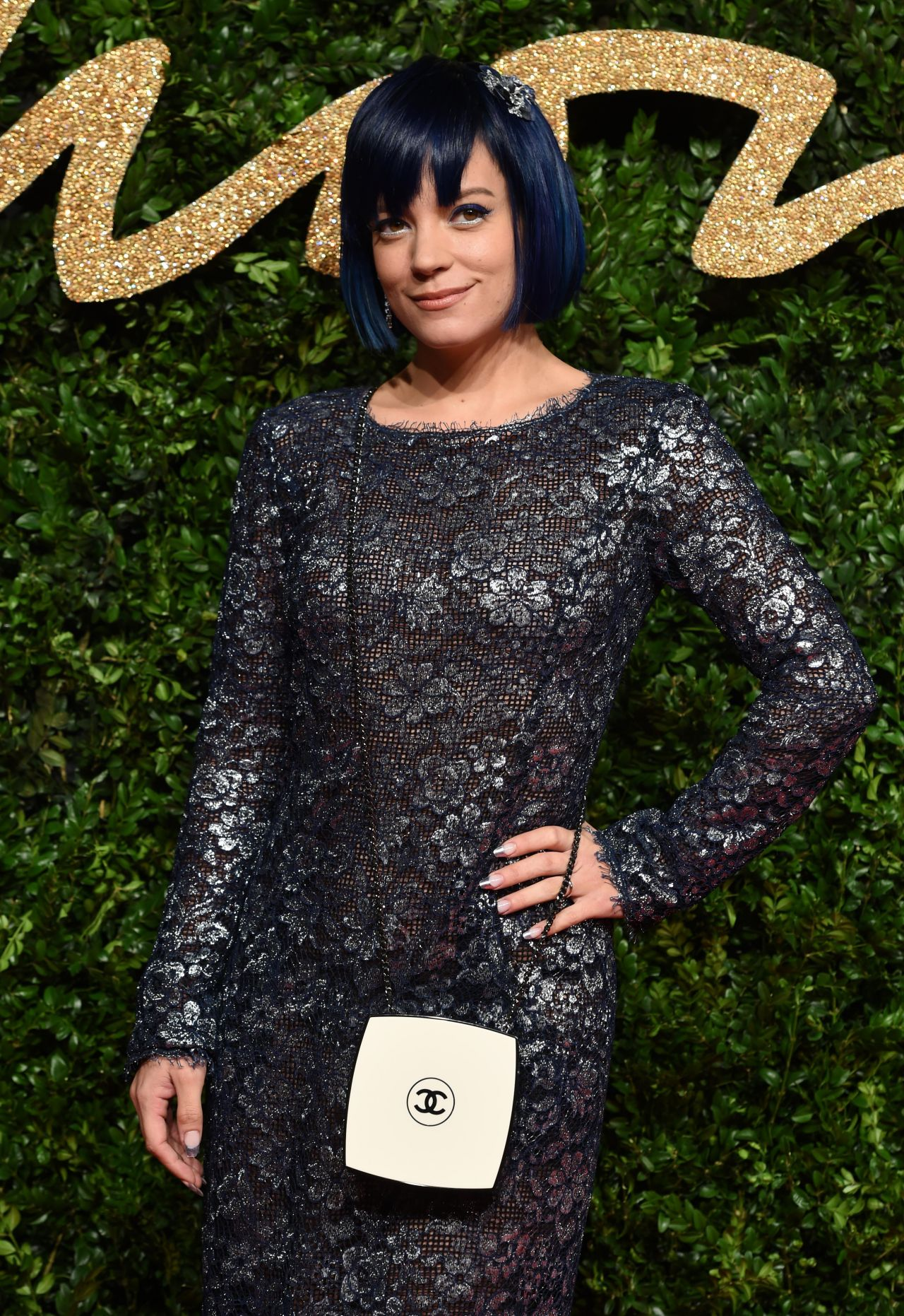 Lily Allen – British Fashion Awards 2015 in London