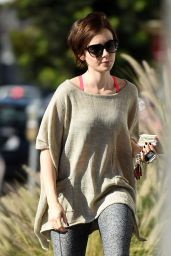 Lily Collins - Out in Los Angeles, November 2015