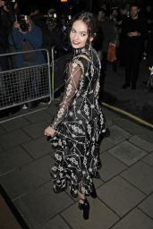 Lily James – 2015 Harper's Bazaar Women of the Year Awards in London