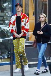 Lily-Rose Depp - Out in Paris, October 2015