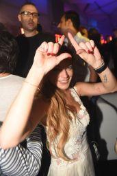Lindsay Lohan at a Club in Dubai, 11/28/2015