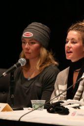 Lindsey Vonn – U.S. Women's Ski Team Press conference in Aspen, November 2015