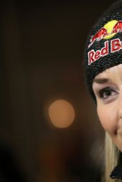 Lindsey Vonn – U.S. Women's Ski Team Press conference in Aspen, November 2015