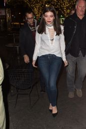 Lorde - Arrives at STK for the SNL After Party in New York City