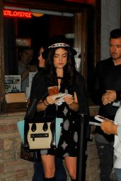 Lucy Hale Night Out Style - at the Troubadour in West Hollywood, November 2015