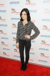 Lucy Hale - Seacrest Studios at Children