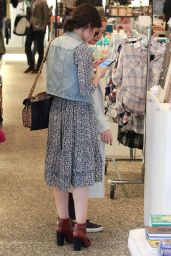 Lucy Hale Style - Shopping at Kitson in Beverly Hills, November 2015