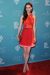 Lydia Hearst - Celebrity Tribute Program at 2015 Napa Valley Film Festival in Yountville