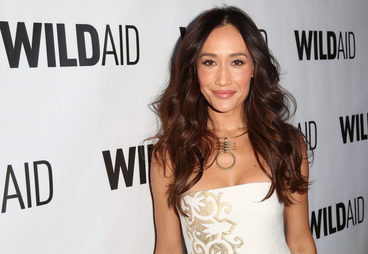 Maggie Q Hairstyle: WildAid 2015 In Beverly Hills