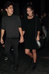 Maia Mitchell Night Out Style - at Katsuya in Hollywood, November 2015