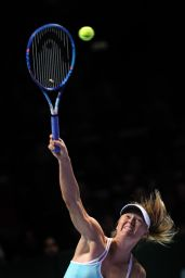 Maria Sharapova – 2015 WTA Finals in Singapore – Semi-Final