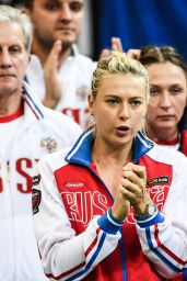 Maria Sharapova - Fed Cup Czech Republic vs. Russia, in Prague, November 2015