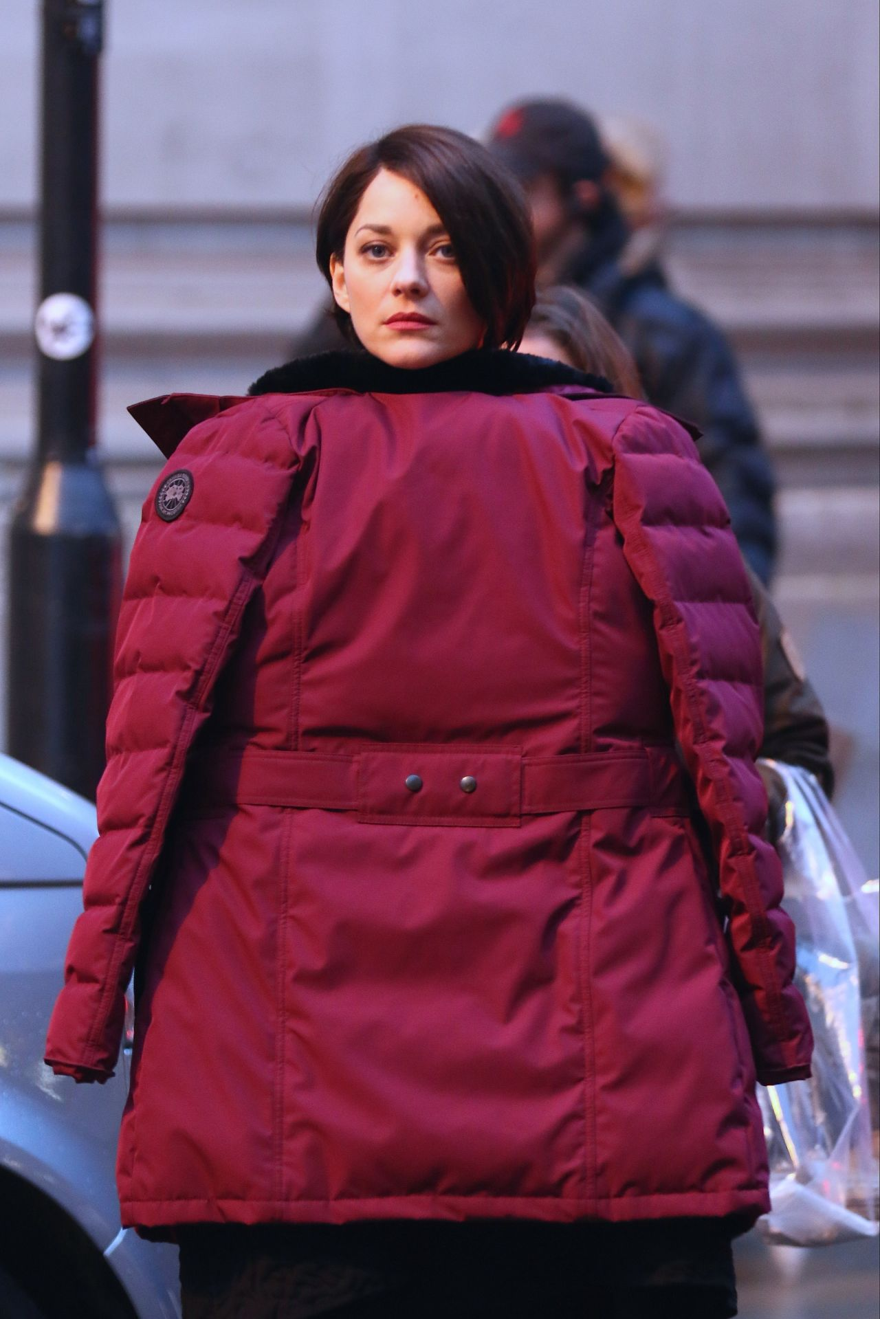 Marion Cotillard On The Set Of Assassin S Creed In
