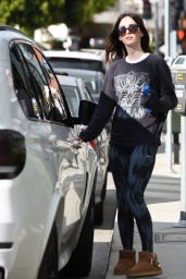 Megan Fox in Tights - Out in LA, November 2015
