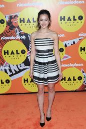 Megan Nicole – 2015 Nickelodeon HALO Awards at Pier 36 in New York