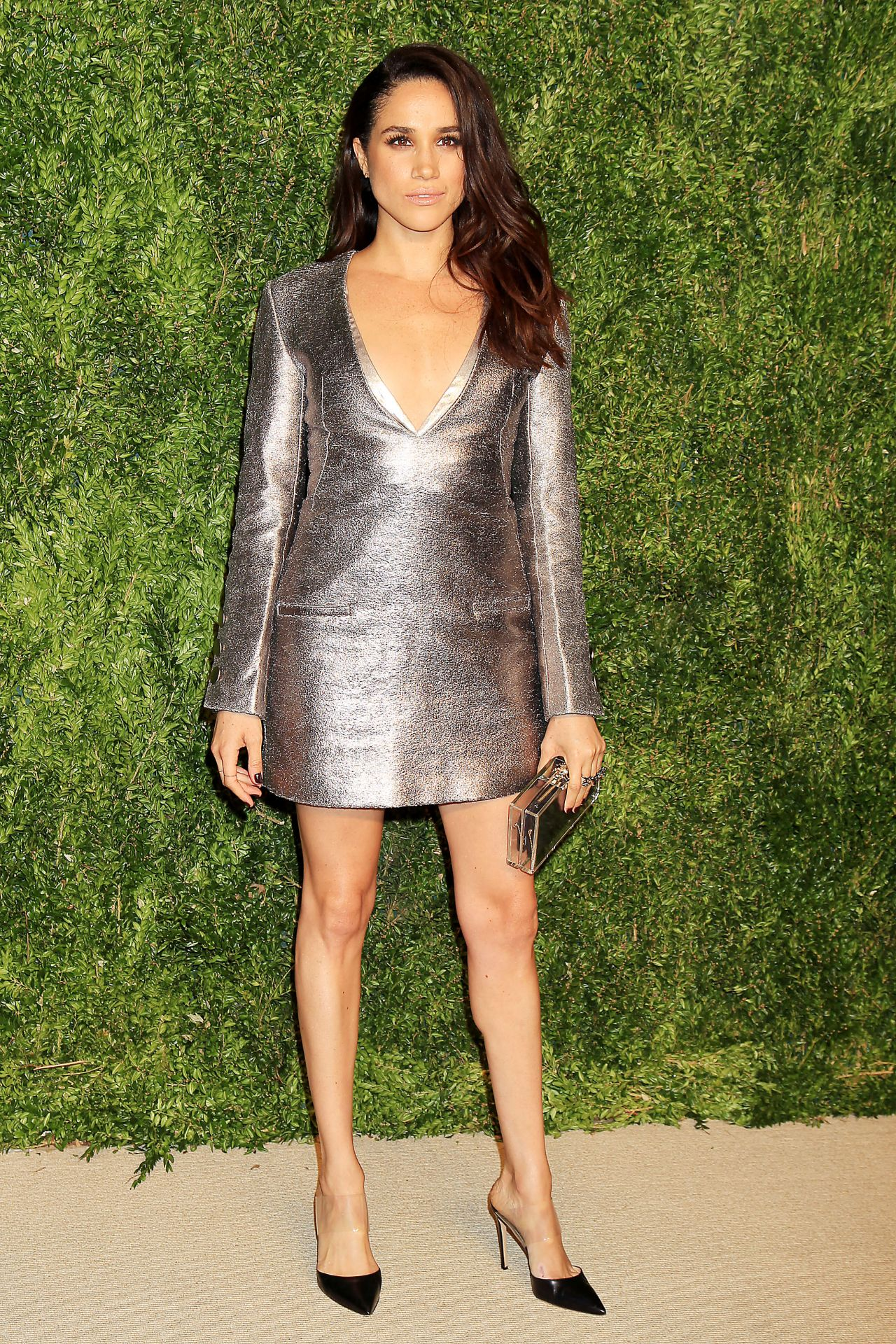 Meghan Markle 2015 Cfda Vogue Fashion Fund Awards In New York City