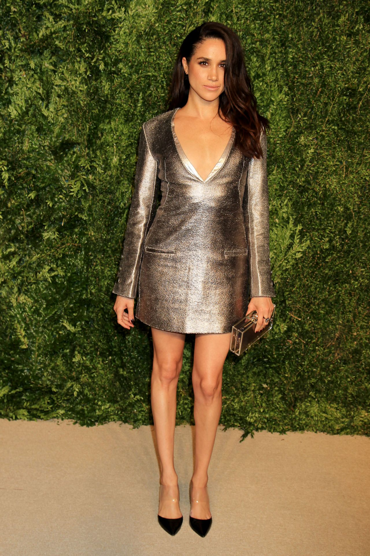 Meghan Markle 2015 Cfda Vogue Fashion Fund Awards In New