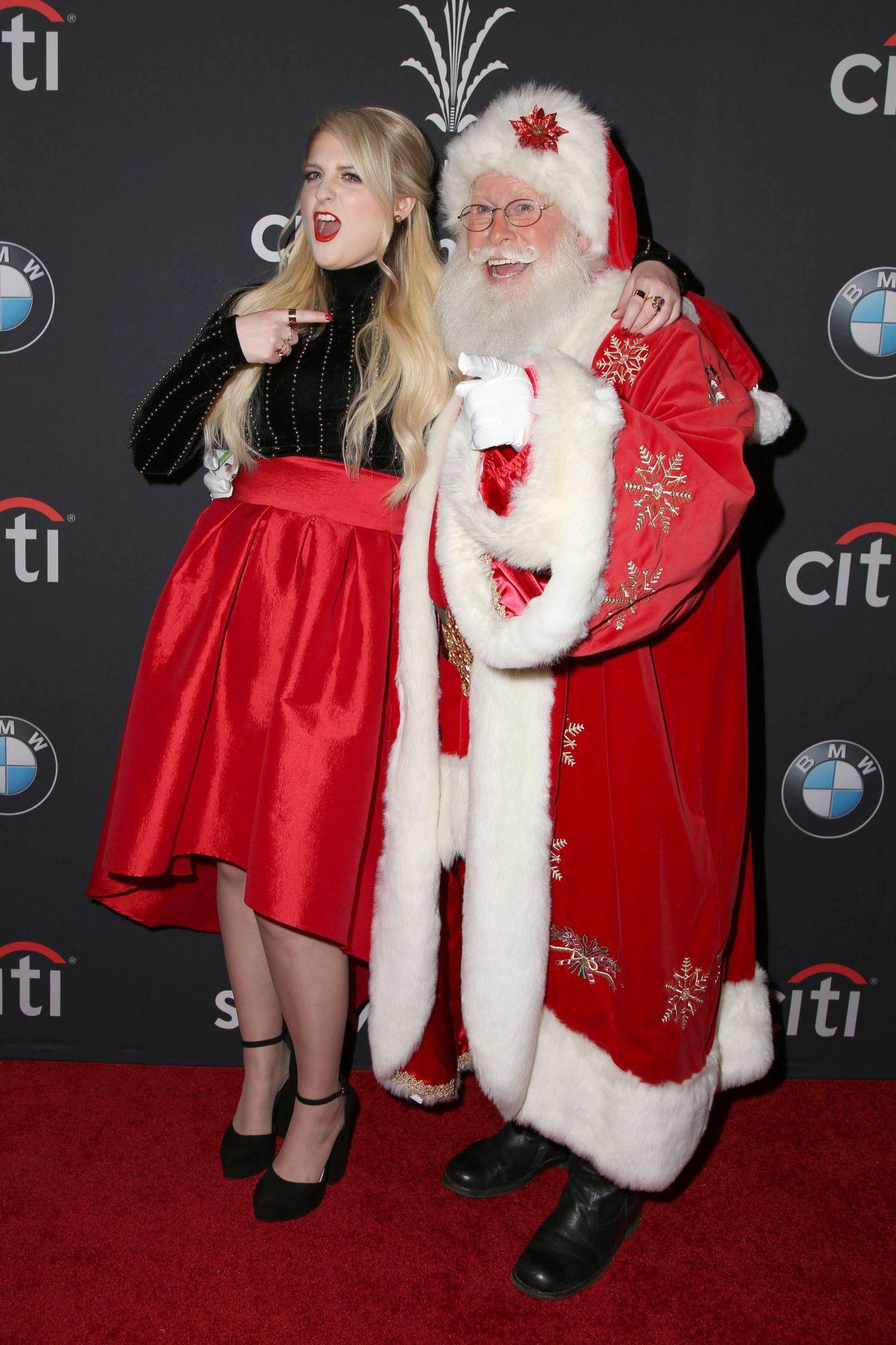 Trainor - The Grove Christmas With Seth MacFarlane in Los Angeles