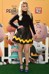 Meghan Trainor – 'The Peanuts Movie' Premiere in Westwood, Novemver 2015