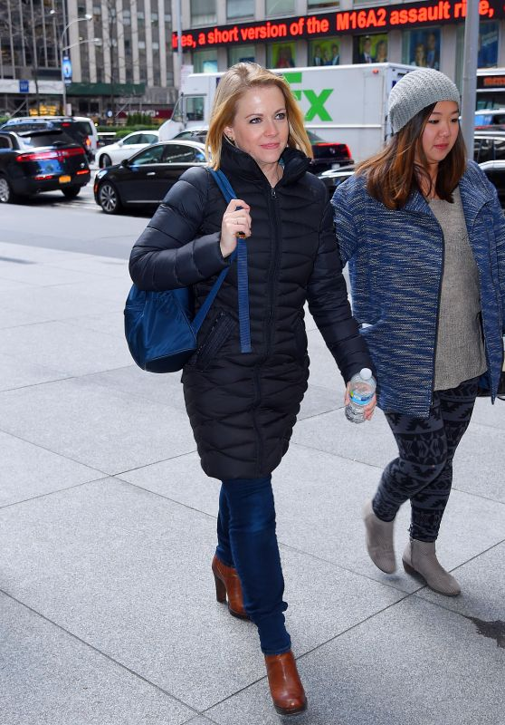 Melissa Joan Hart - Out in NYC, November 2015