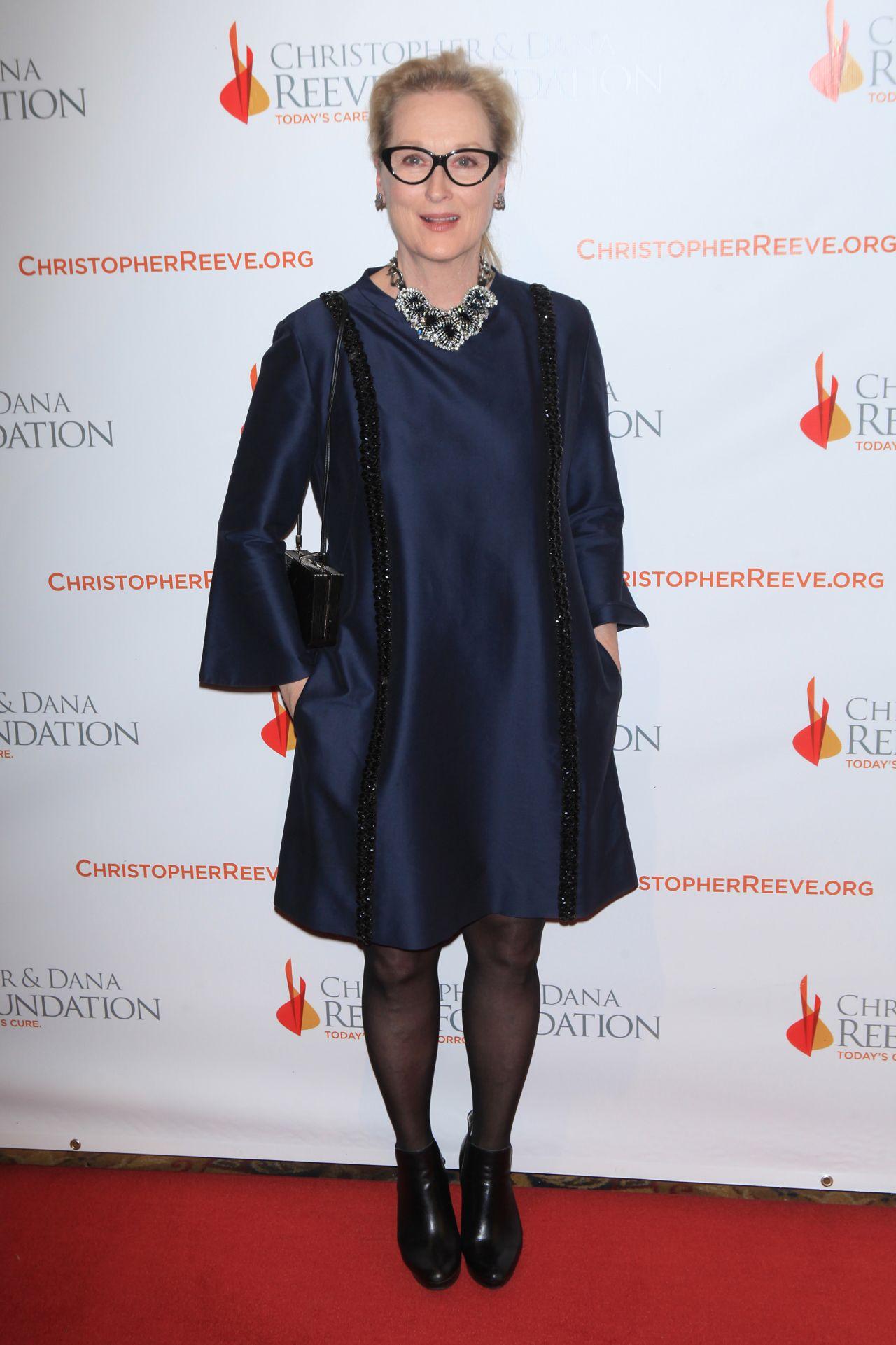 Meryl Streep Christopher Amp Dana Reeve Foundation 25th
