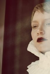 Mia Wasikowska - Photoshoot for Flaunt Magazine, 2015